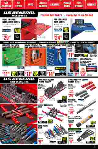 Harbor Freight Tools - deals are valid from 01/01/21 to 01/31/21 - page 39.