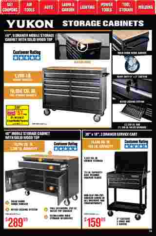 Harbor Freight Tools - deals are valid from 01/01/21 to 01/31/21 - page 40.