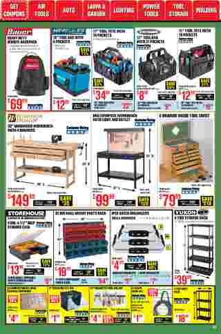 Harbor Freight Tools - deals are valid from 01/01/21 to 01/31/21 - page 41.