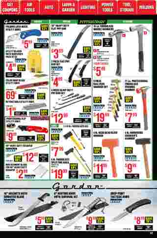 Harbor Freight Tools - deals are valid from 01/01/21 to 01/31/21 - page 42.
