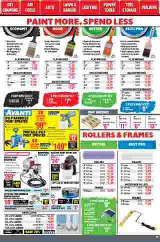 Harbor Freight Tools - deals are valid from 01/01/21 to 01/31/21 - page 44.