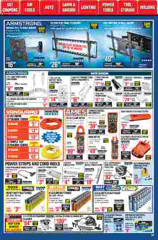 Harbor Freight Tools - deals are valid from 01/01/21 to 01/31/21 - page 45.