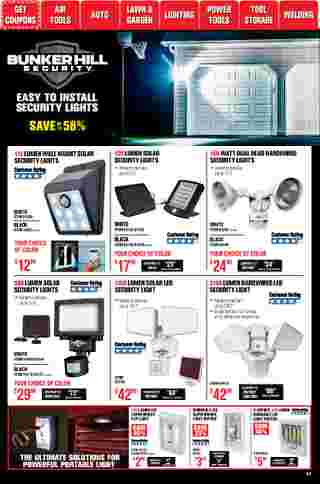 Harbor Freight Tools - deals are valid from 01/01/21 to 01/31/21 - page 47.