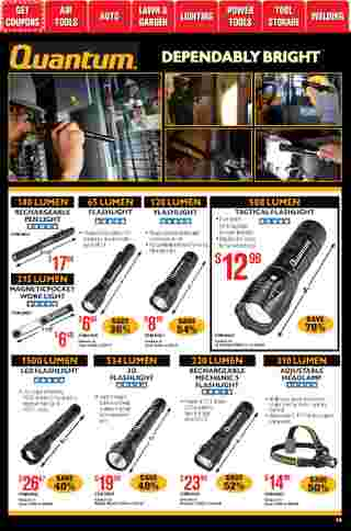 Harbor Freight Tools - deals are valid from 01/01/21 to 01/31/21 - page 48.