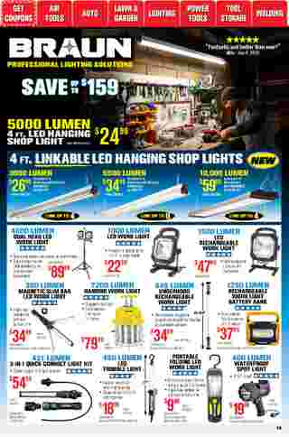 Harbor Freight Tools - deals are valid from 01/01/21 to 01/31/21 - page 49.