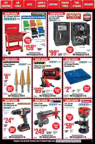 Harbor Freight Tools - deals are valid from 01/01/21 to 01/31/21 - page 5.