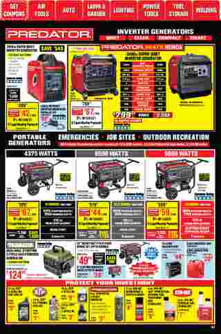 Harbor Freight Tools - deals are valid from 01/01/21 to 01/31/21 - page 51.
