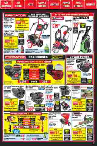 Harbor Freight Tools - deals are valid from 01/01/21 to 01/31/21 - page 52.