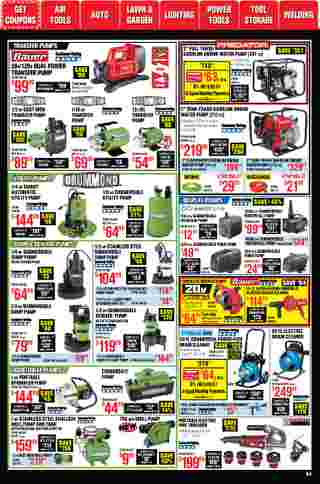 Harbor Freight Tools - deals are valid from 01/01/21 to 01/31/21 - page 53.