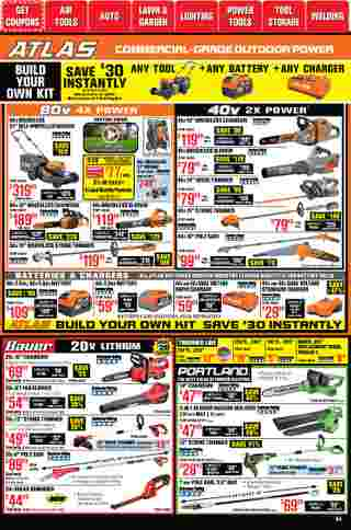 Harbor Freight Tools - deals are valid from 01/01/21 to 01/31/21 - page 54.