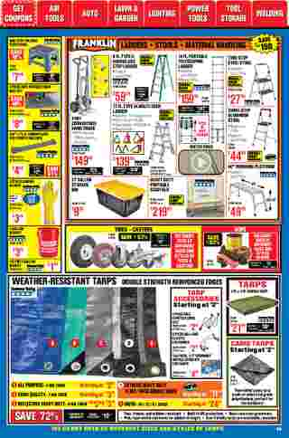 Harbor Freight Tools - deals are valid from 01/01/21 to 01/31/21 - page 56.
