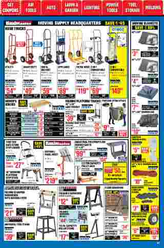 Harbor Freight Tools - deals are valid from 01/01/21 to 01/31/21 - page 57.