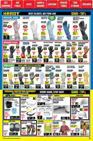 Harbor Freight Tools - deals are valid from 01/01/21 to 01/31/21 - page 58.