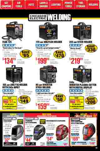 Harbor Freight Tools - deals are valid from 01/01/21 to 01/31/21 - page 59.