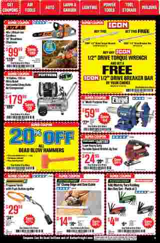 Harbor Freight Tools - deals are valid from 01/01/21 to 01/31/21 - page 6.
