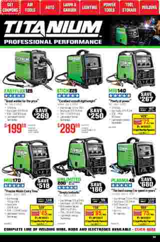 Harbor Freight Tools - deals are valid from 01/01/21 to 01/31/21 - page 60.