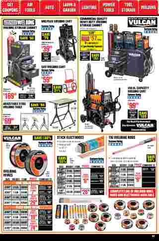 Harbor Freight Tools - deals are valid from 01/01/21 to 01/31/21 - page 62.