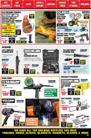 Harbor Freight Tools - deals are valid from 01/01/21 to 01/31/21 - page 63.