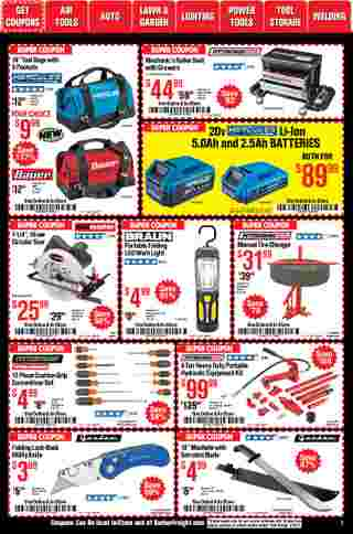 Harbor Freight Tools - deals are valid from 01/01/21 to 01/31/21 - page 7.