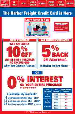 Harbor Freight Tools - deals are valid from 01/01/21 to 01/31/21 - page 8.