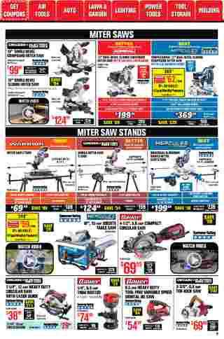 Harbor Freight Tools - deals are valid from 01/01/21 to 01/31/21 - page 9.