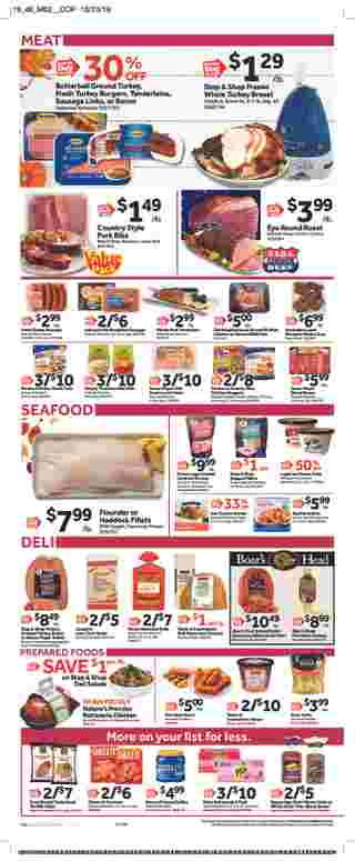 Stop & Shop - deals are valid from 11/08/19 to 11/14/19 - page 6.