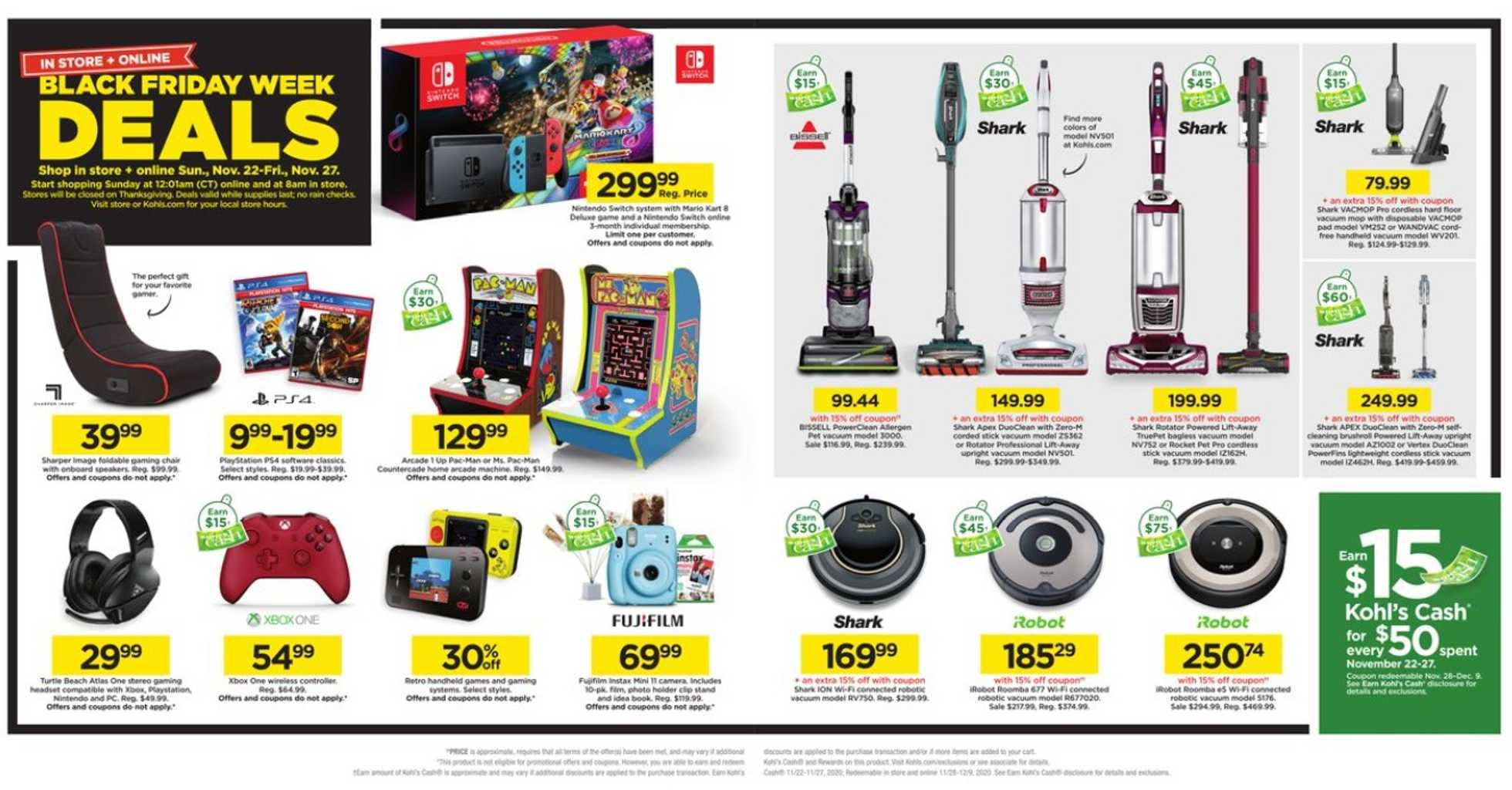 Kohl's - deals are valid from 11/22/20 to 11/27/20 - page 4.