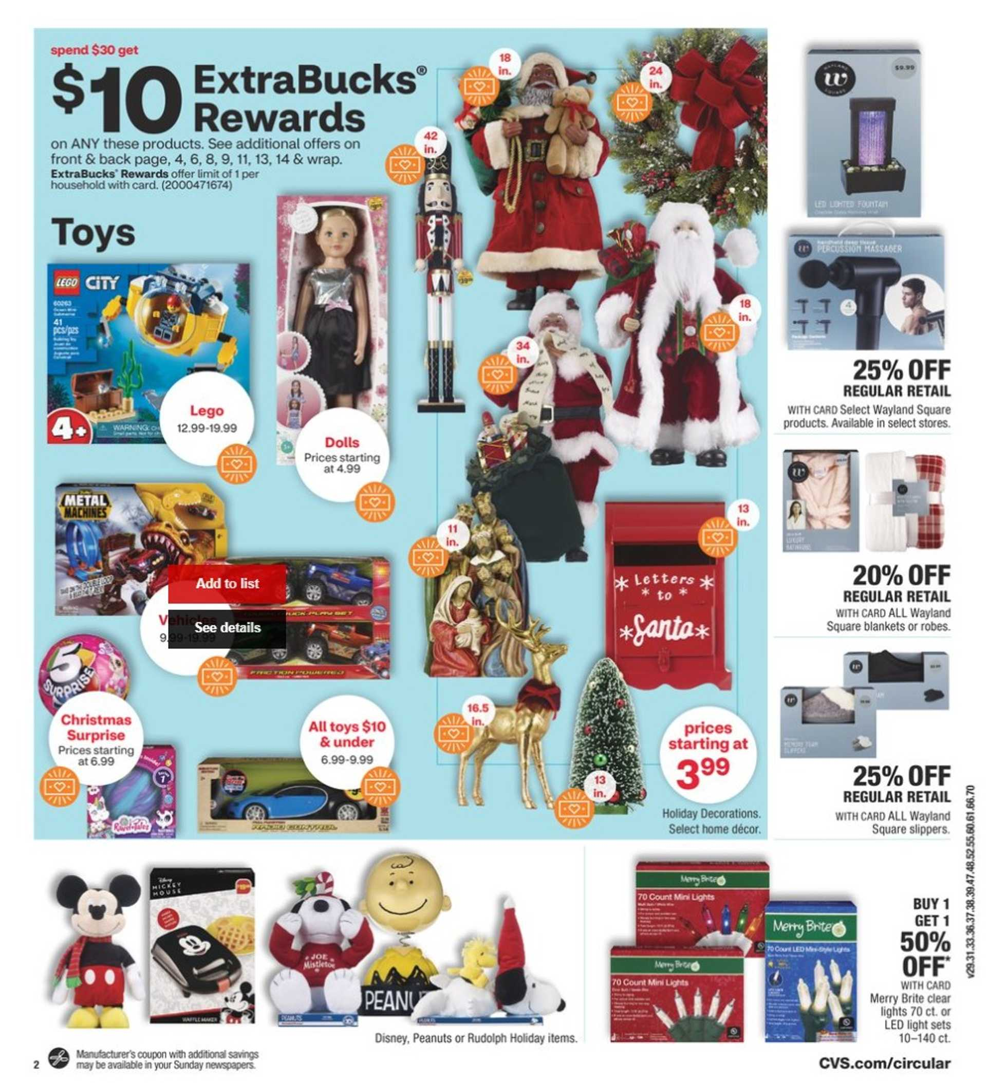 CVS - deals are valid from 11/15/20 to 11/21/20 - page 3.