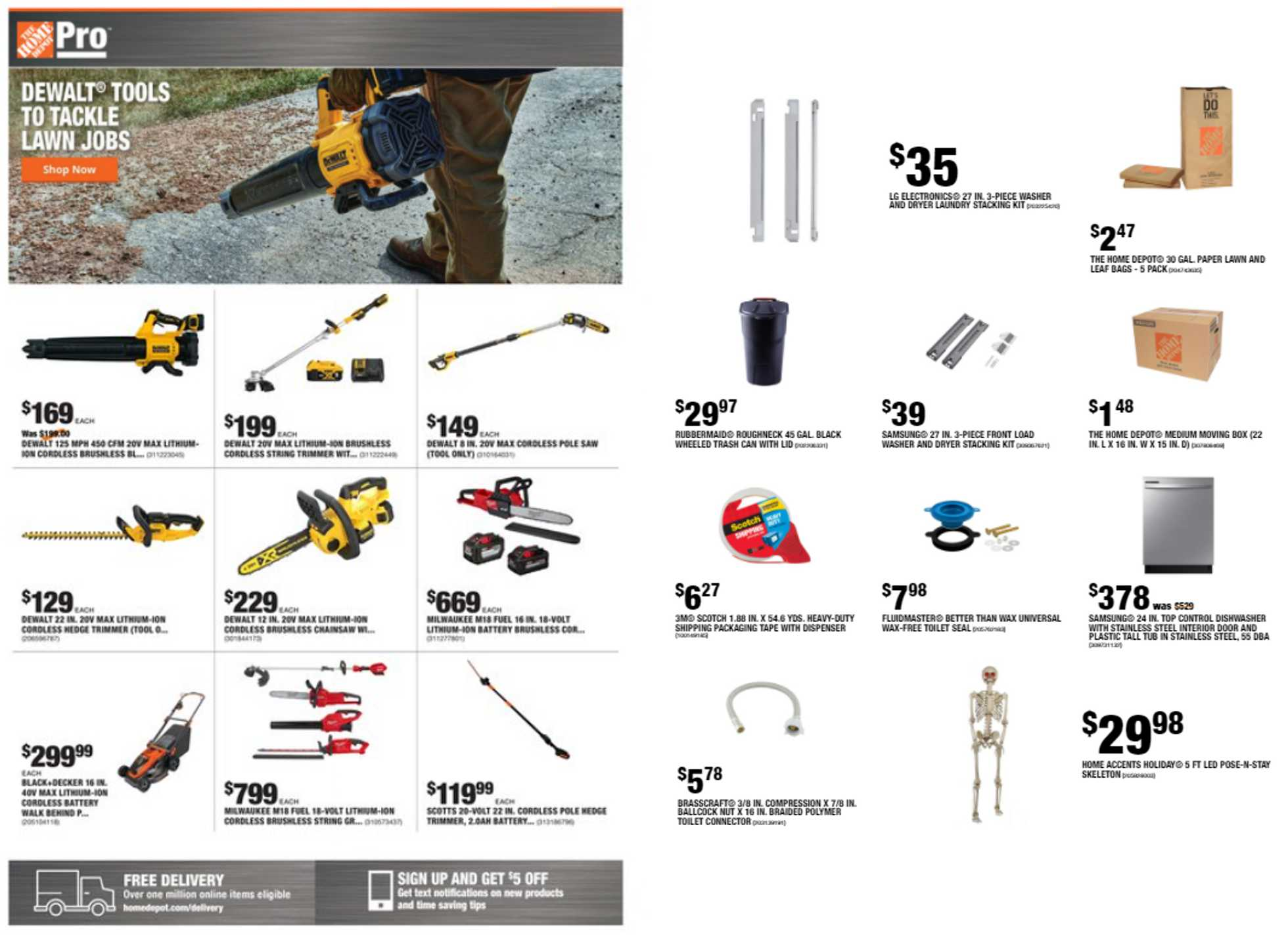 The Home Depot - deals are valid from 09/07/20 to 09/14/20 - page 1.