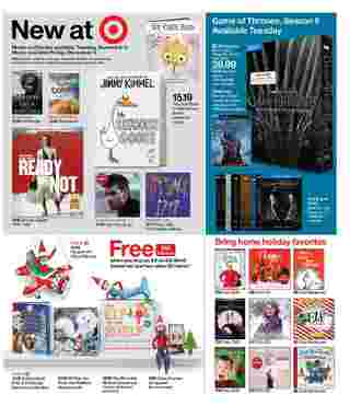 Target - deals are valid from 12/01/19 to 12/07/19 - page 28.