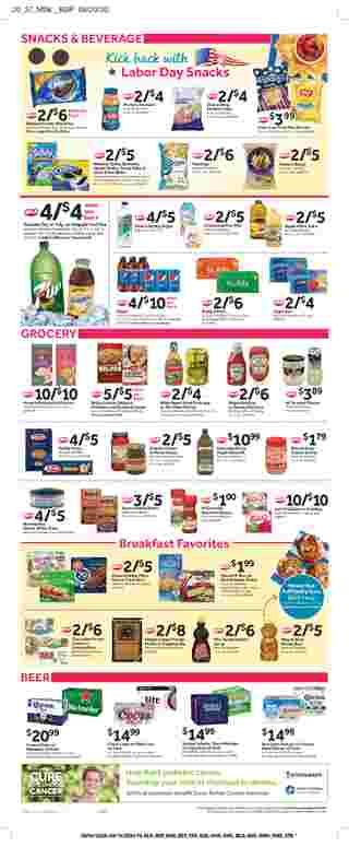 Stop & Shop - deals are valid from 09/04/20 to 09/10/20 - page 11.