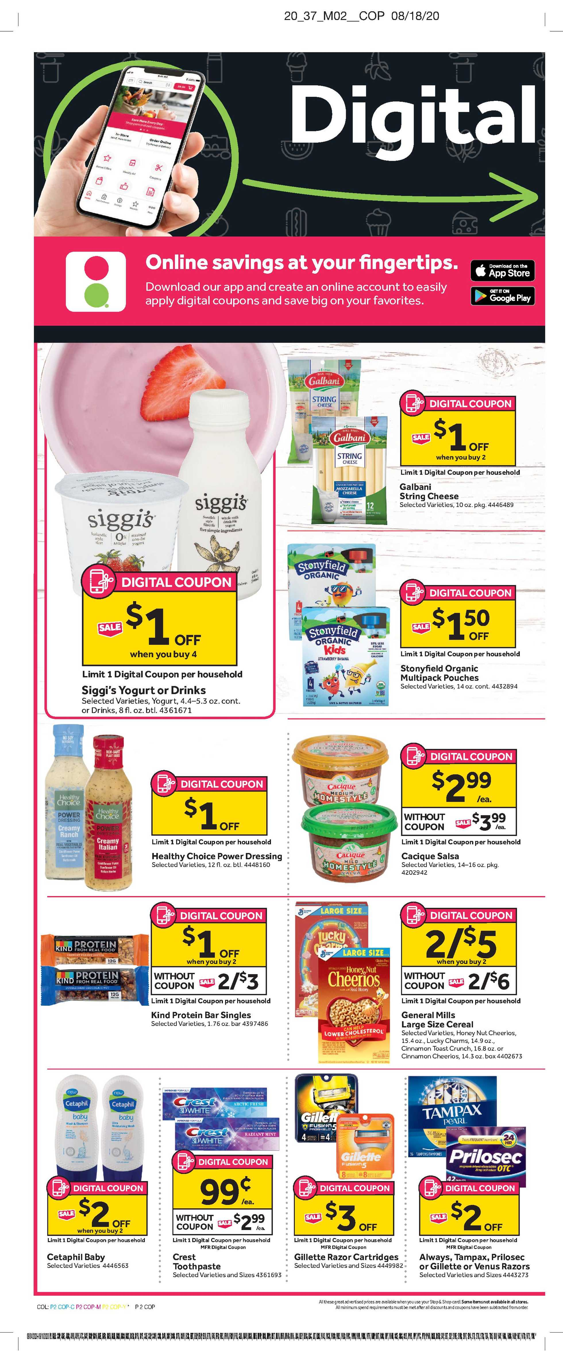 Stop & Shop - deals are valid from 09/04/20 to 09/10/20 - page 4.