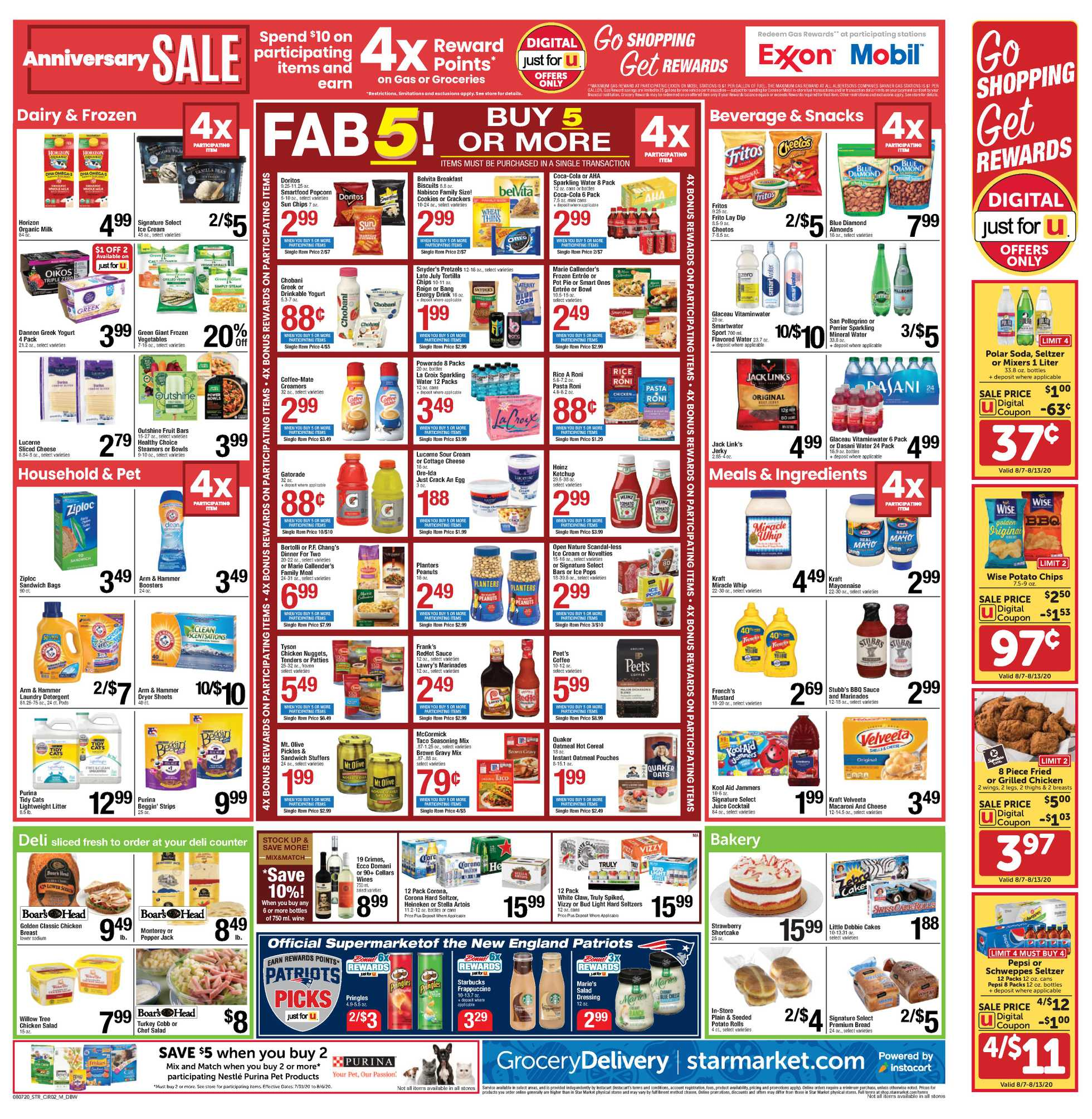 Star Market - deals are valid from 08/07/20 to 08/13/20 - page 2.