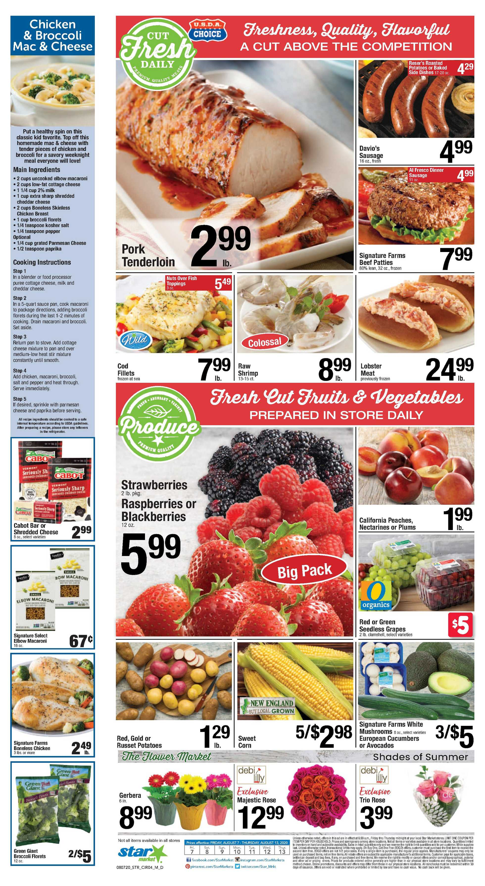 Star Market - deals are valid from 08/07/20 to 08/13/20 - page 3.