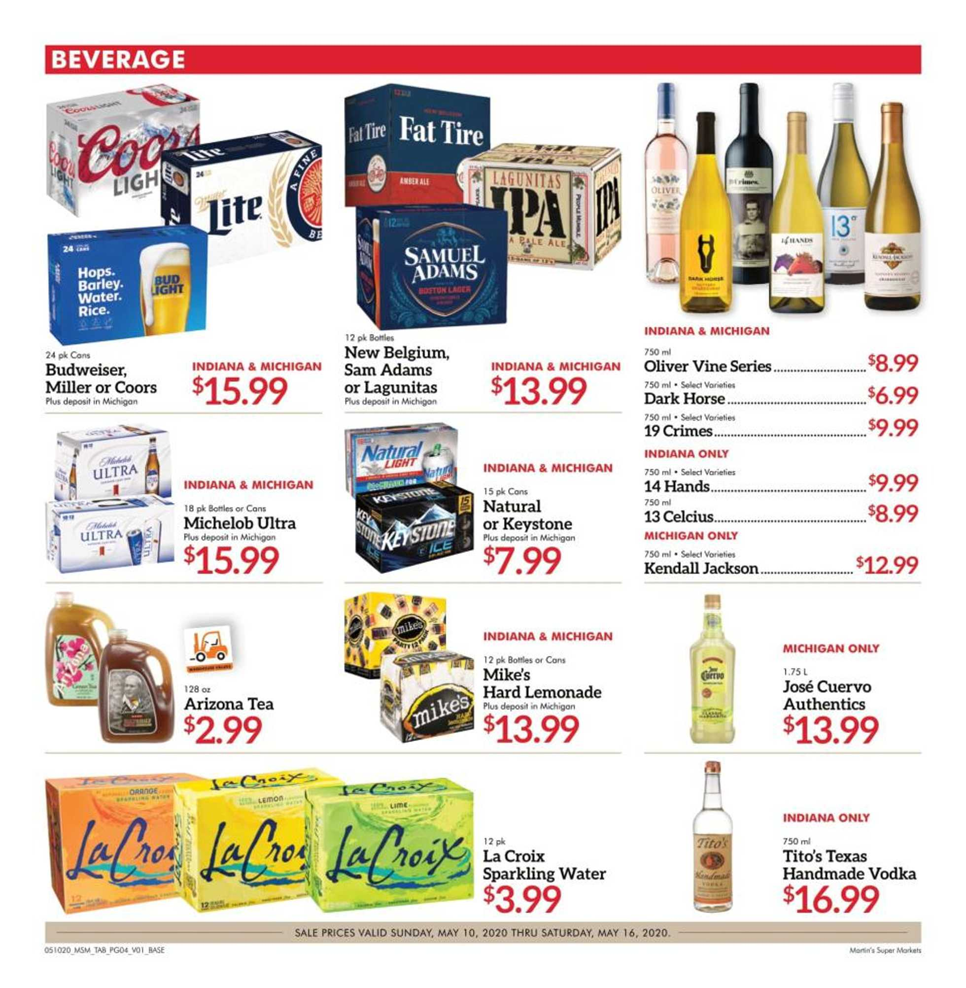 Martin's - deals are valid from 05/10/20 to 05/16/20 - page 4.