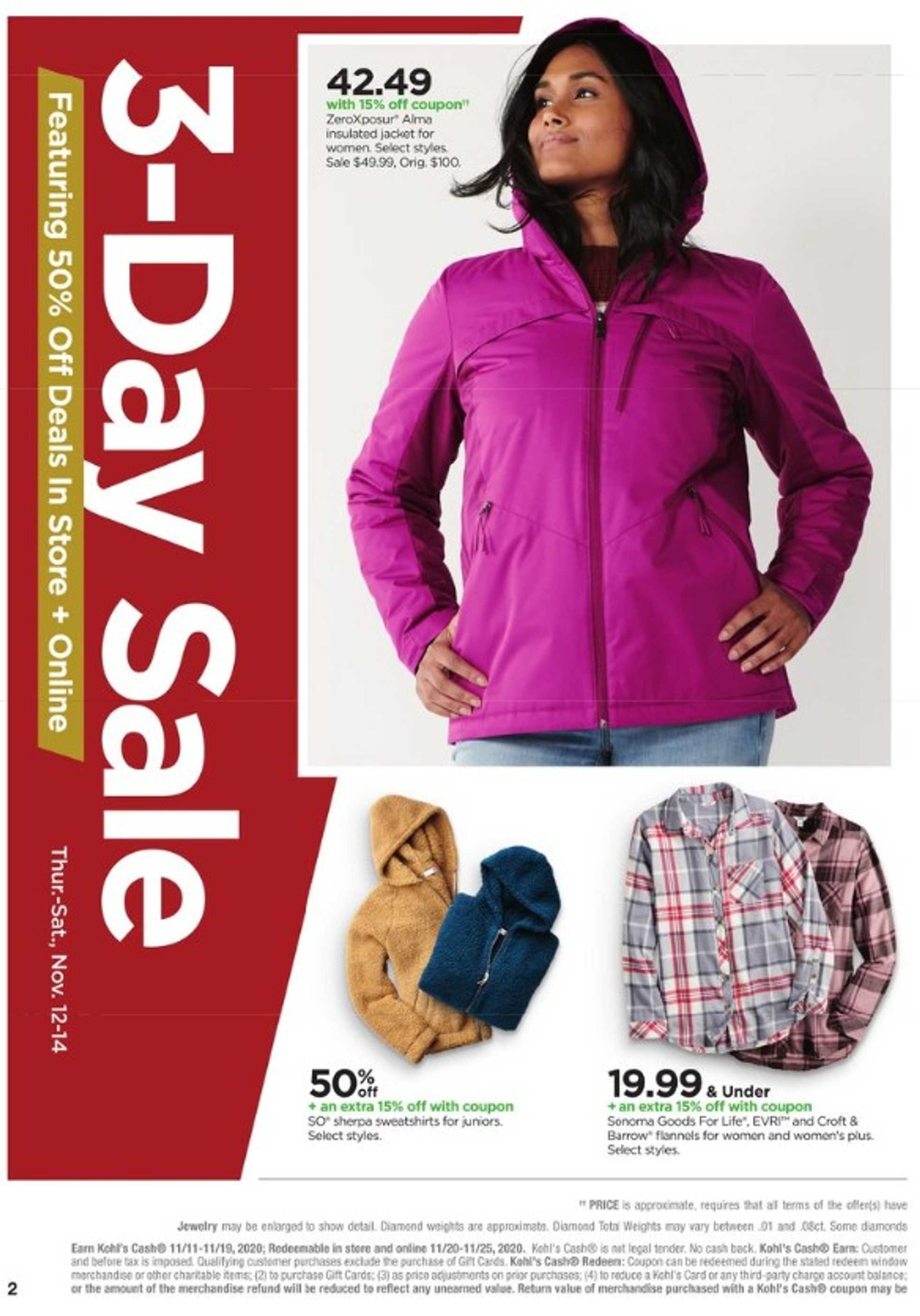 Kohl's - deals are valid from 11/11/20 to 11/22/20 - page 3.