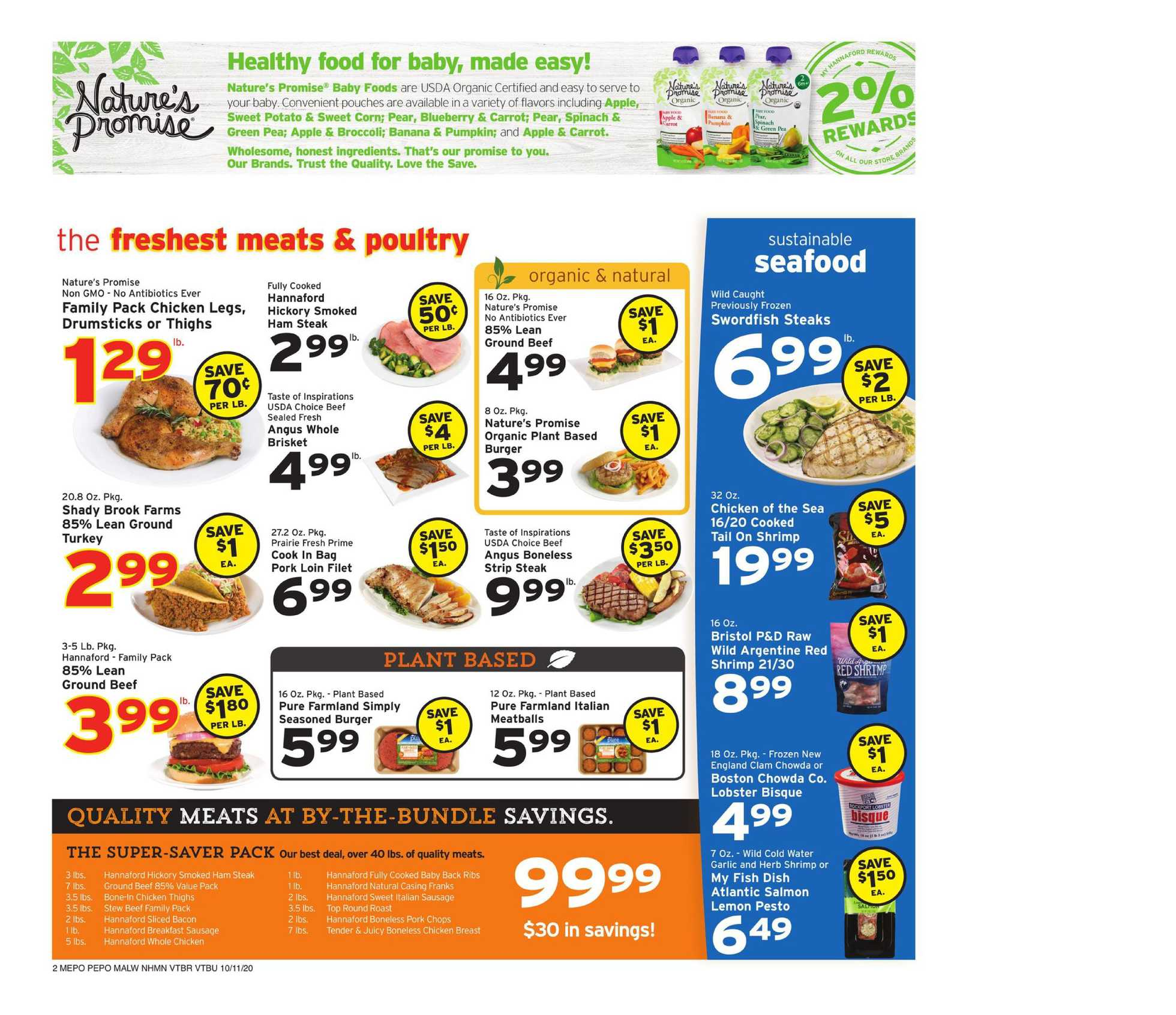 Hannaford - deals are valid from 10/11/20 to 10/17/20 - page 2.