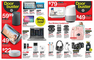 Target - promo starting from 11/28/19 to 11/30/19 - page 6. The promotion includes hero, toy, tim