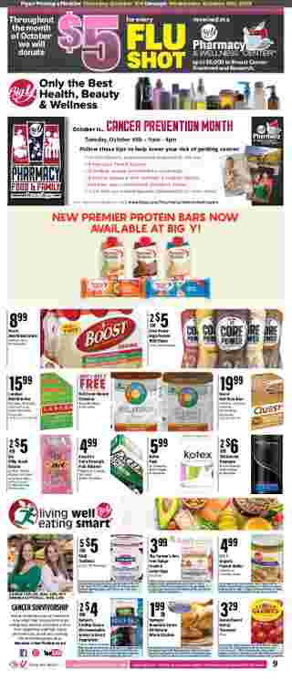Big Y - deals are valid from 10/03/19 to 10/09/19 - page 11.