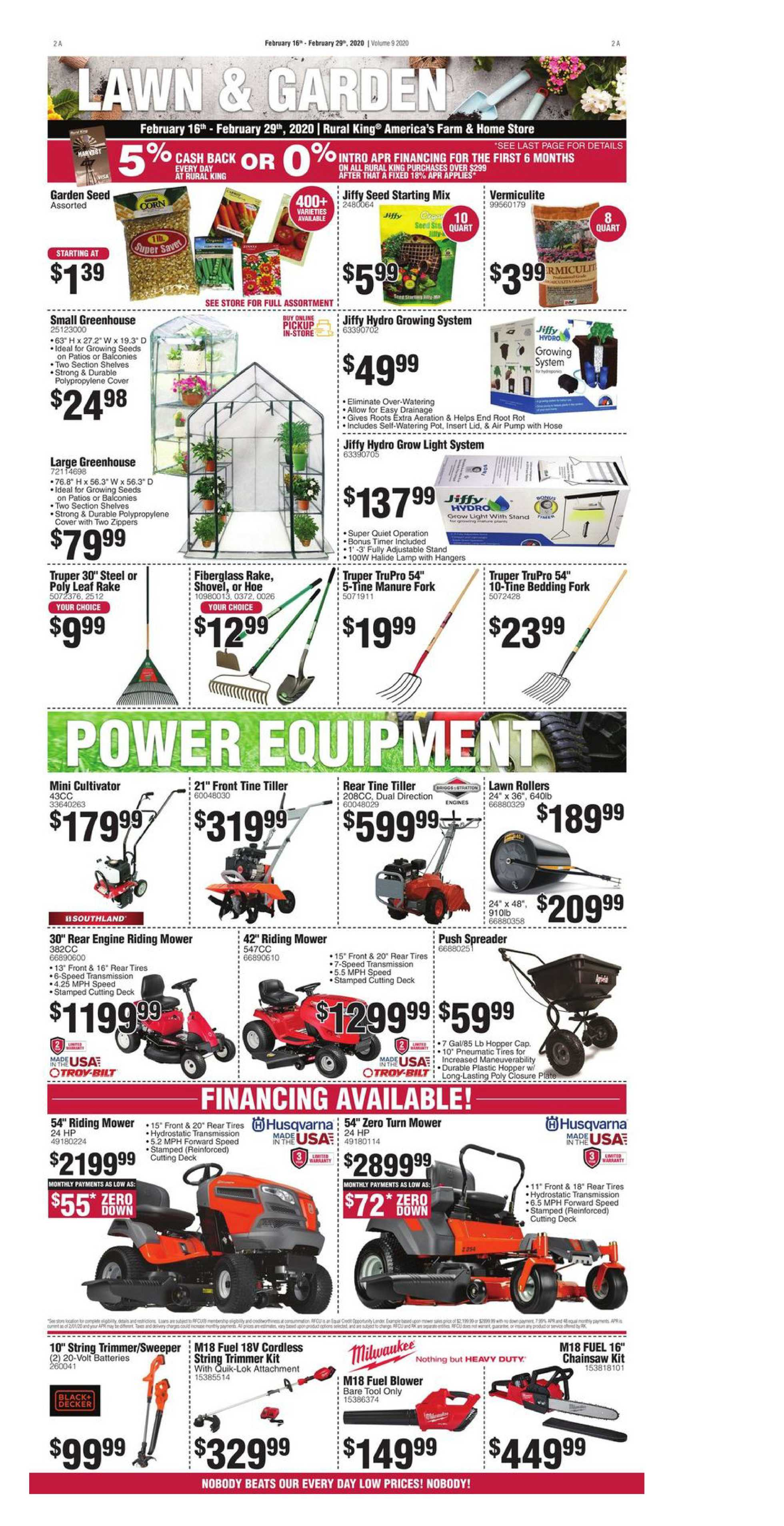 Rural King - promo starting from 02/16/20 to 02/29/20 - page 2.