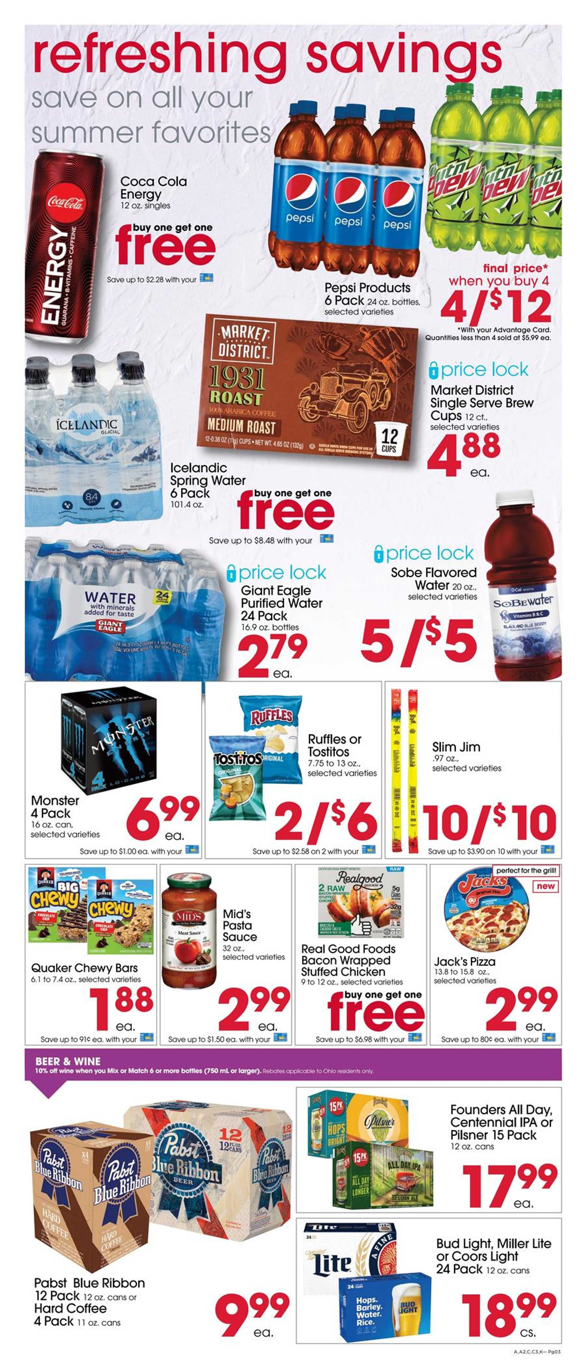 Giant Eagle - deals are valid from 07/16/20 to 07/22/20 - page 3.