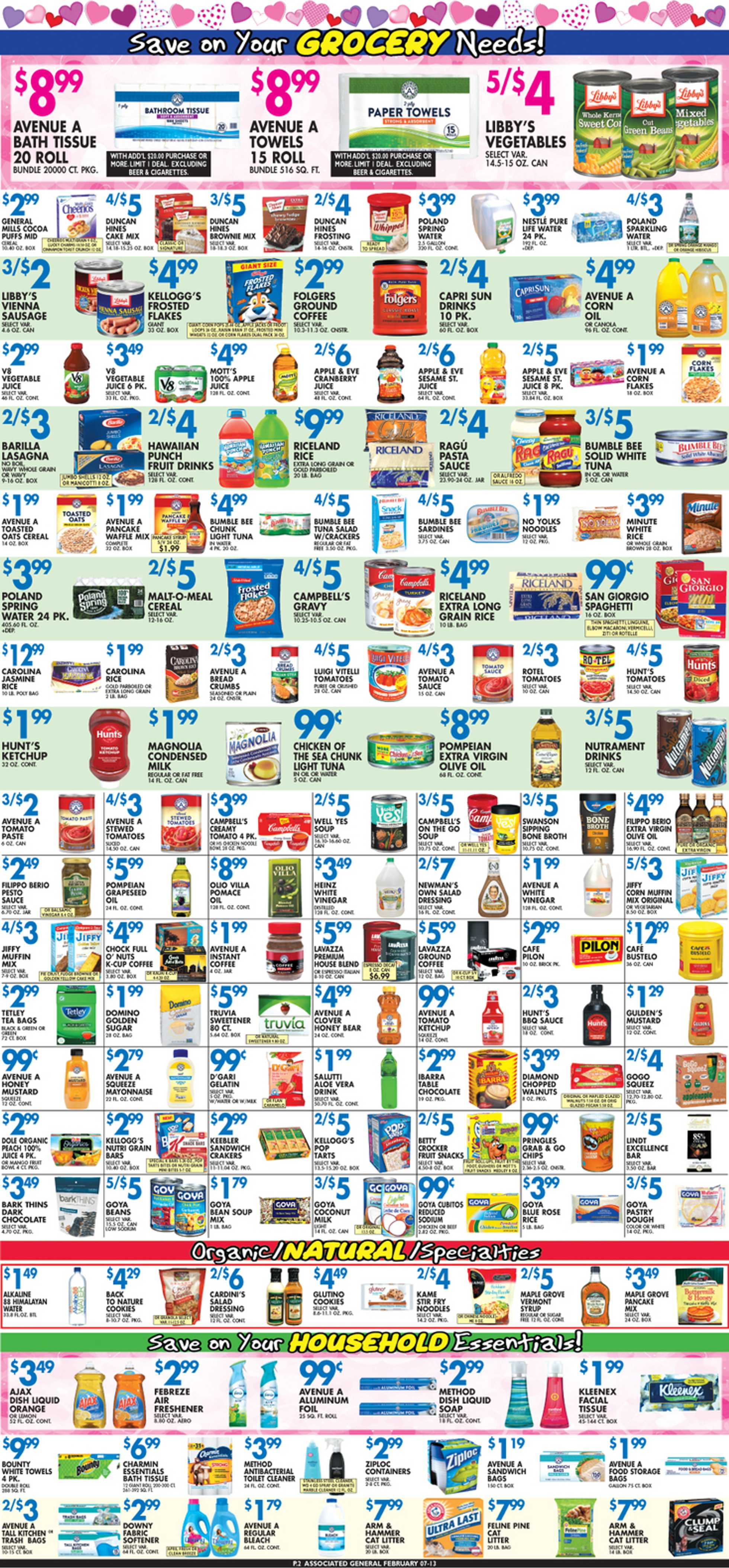 Associated Supermarkets - deals are valid from 02/07/20 to 02/13/20 - page 2.