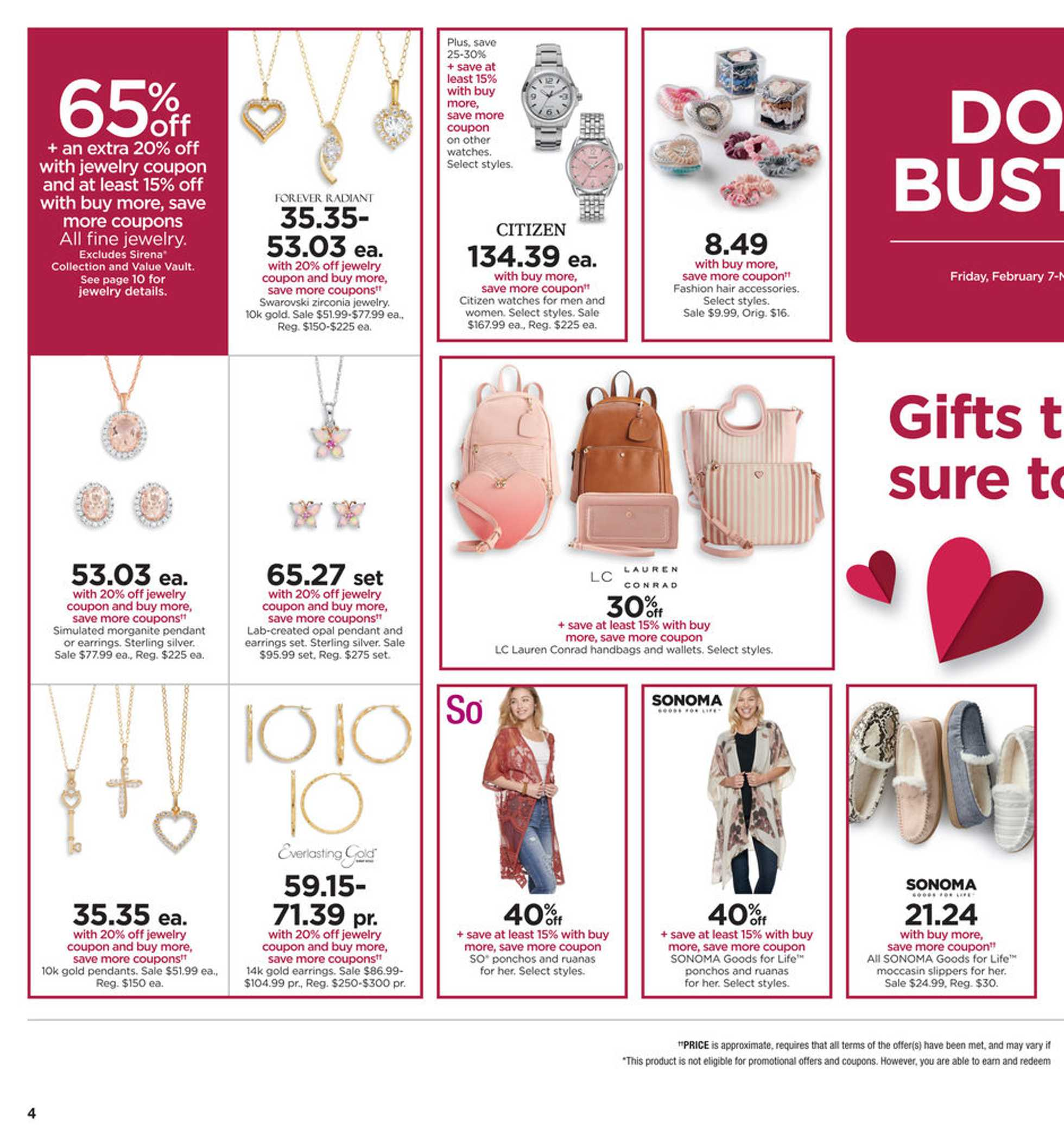 Kohl's - deals are valid from 02/07/20 to 02/17/20 - page 4.