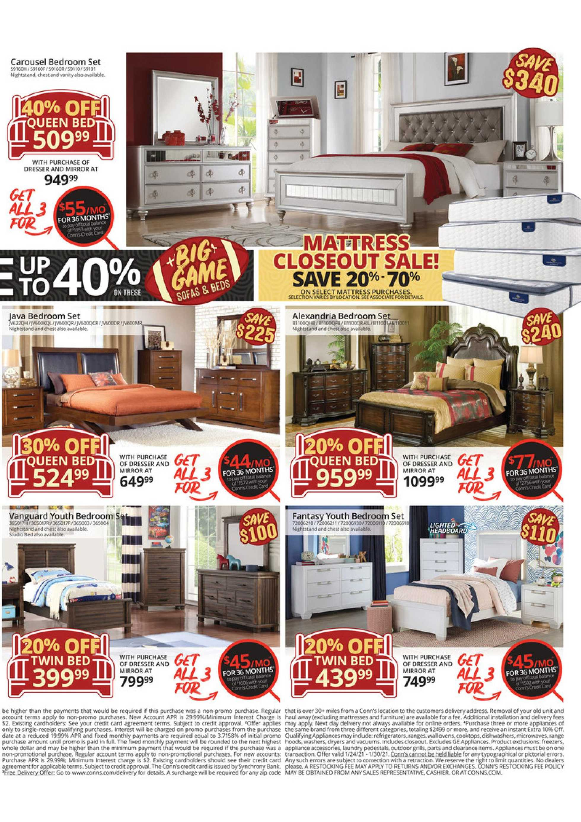 Conn's HomePlus - deals are valid from 01/24/21 to 01/30/21 - page 3.