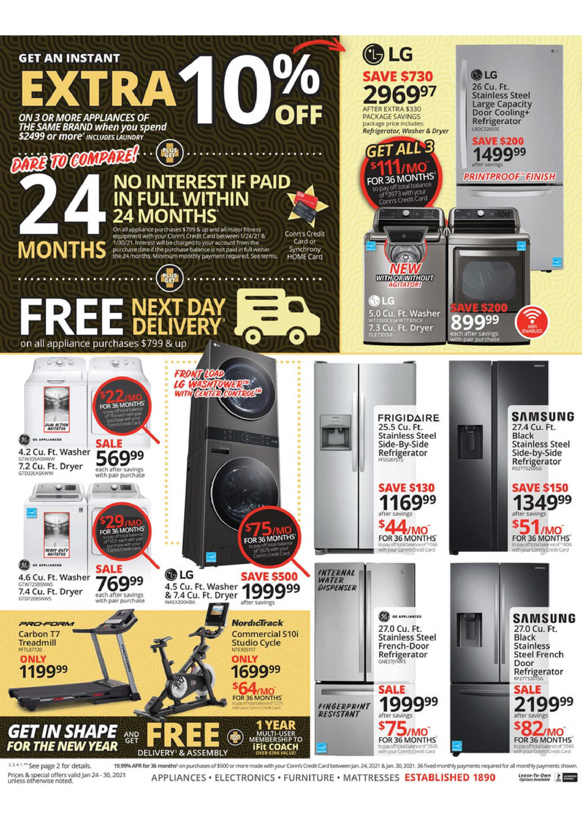 Conn's HomePlus - deals are valid from 01/24/21 to 01/30/21 - page 4.