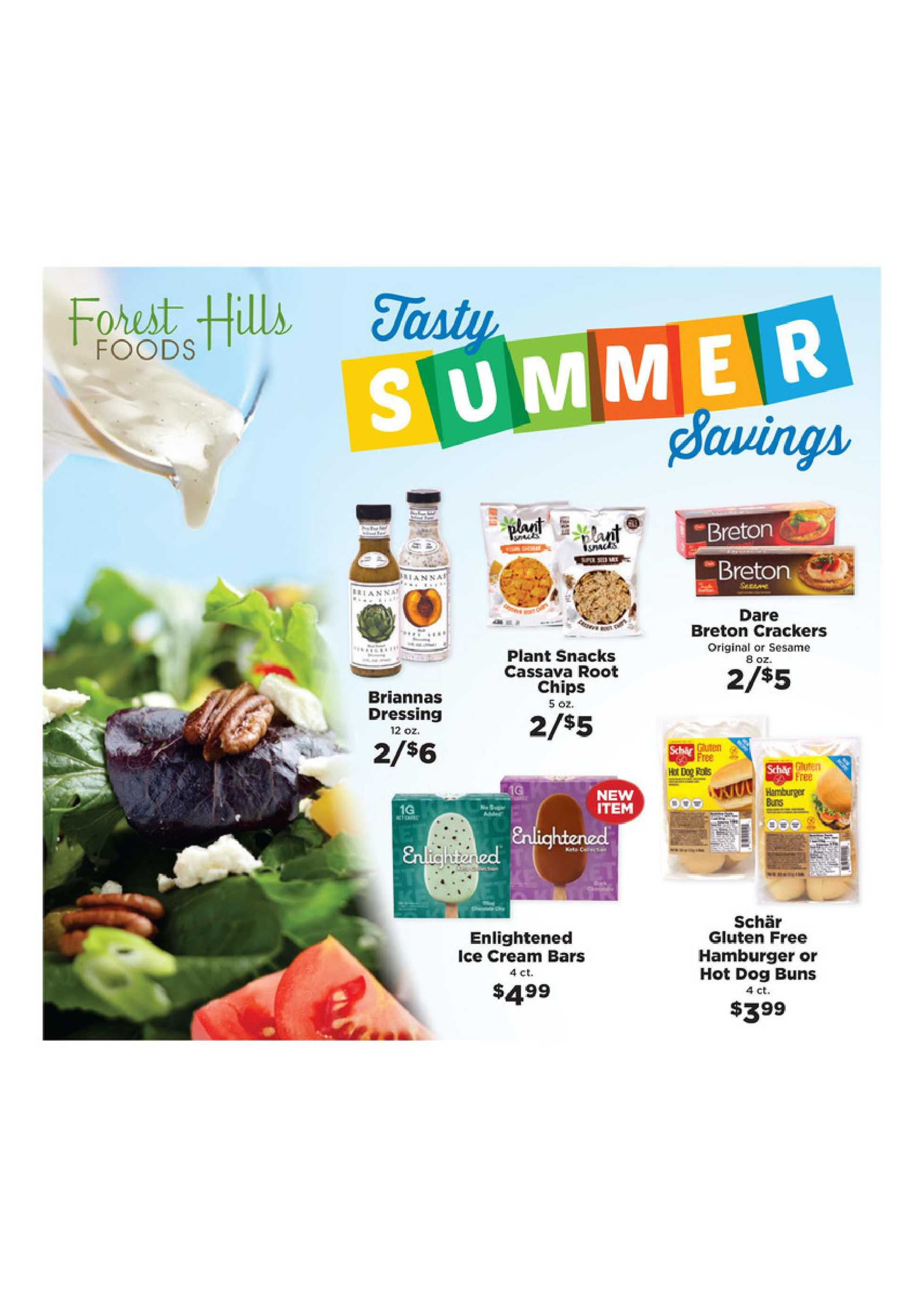 Forest Hills Foods - deals are valid from 06/28/20 to 08/29/20 - page 1.