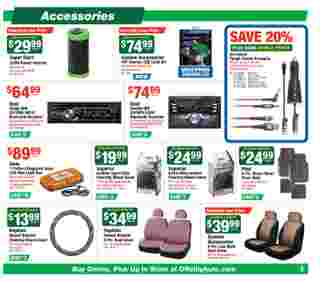 O'reilly - deals are valid from 06/24/20 to 07/28/20 - page 9.