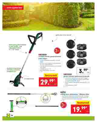 Lidl - deals are valid from 04/24/19 to 04/30/19 - page 26.