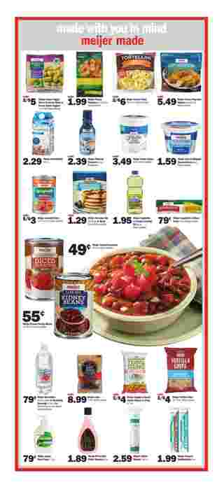 Meijer - deals are valid from 09/29/19 to 10/05/19 - page 5.