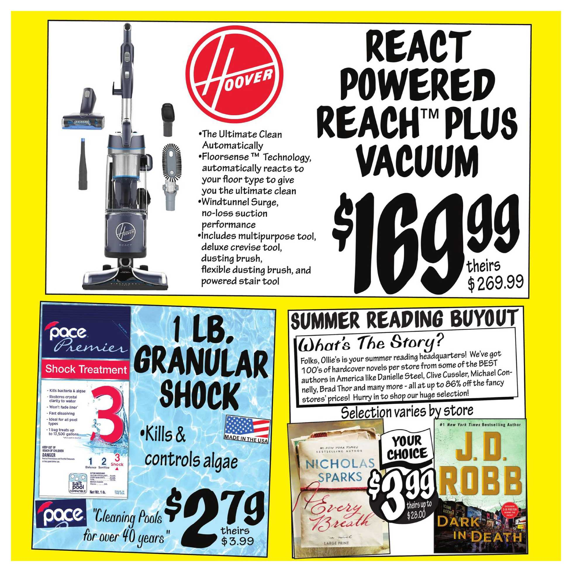 Ollie's Bargain Outlet - deals are valid from 07/15/20 to 07/22/20 - page 3.